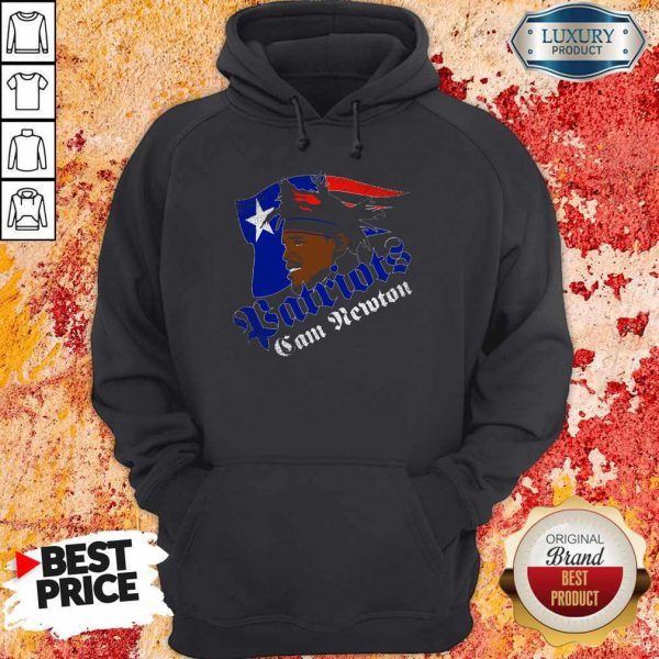 Awesome Cam Newton Patriots Hoodie