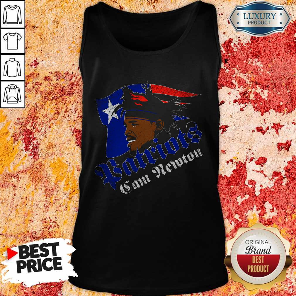 Awesome Cam Newton Patriots Tank Top