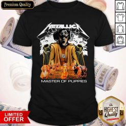 Awesome Dachshund Metallica Master Of Puppies Shirt