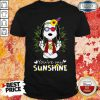 Cute Snoopy Hippie You're My Sunshine Shirt