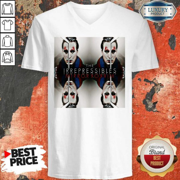 Funny In This Shirt The Irrepressibles V-neck