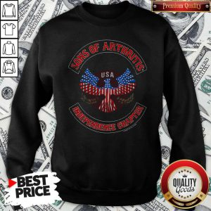 Independence Day Sons Of Arthritis Eagle USA Independence Chapter Sweatshirt