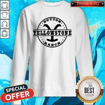 Nice Dutton Yellowstone Ranch Sweatshirt