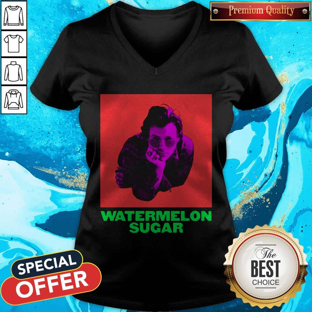 Official Harry Styles Watermelon Sugar V-neck