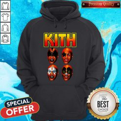 Official Kith Kiss Rock Mike Tyson Hoodie