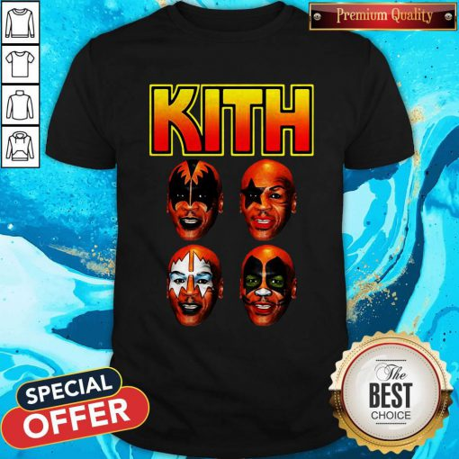 Official Kith Kiss Rock Mike Tyson Shirt