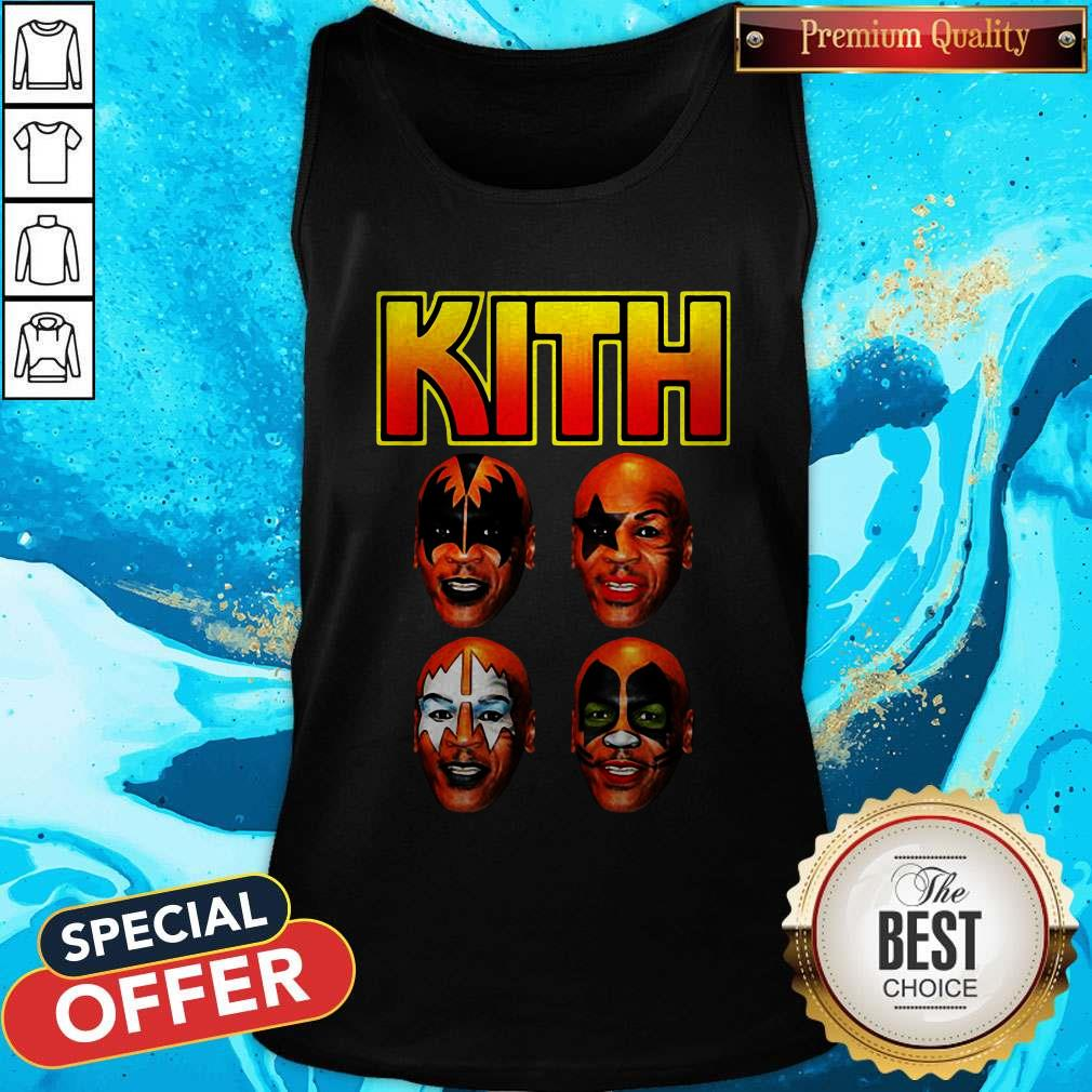 Official Kith Kiss Rock Mike Tyson Tank Top