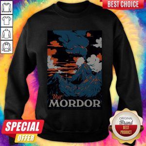 Official Visit Mordor Middle Earth Arch Villain Sauron Tee Sweatshirt