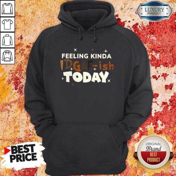 Premium Feeling Kinda Idgaf Ish Today Hoodie
