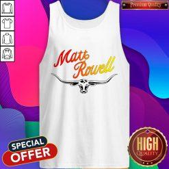 Premium Matt Rowell Tank Top