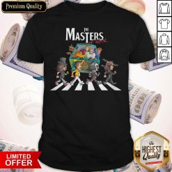 Premium Scooby Doo The Masters Of Rock Shirt