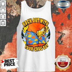 Top Crocs Rock Out With Your Croc Out Tank Top