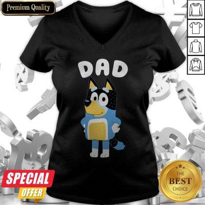 Good Bluey Dad V-neck