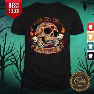 Day Dead Dia De Los Muertos Sugar Skull Shirt