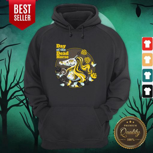 Day Of The Dead Horse Sugar Skull Hoodie
