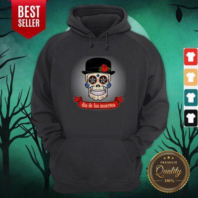 Gentlemen Sugar Skull Dia De Los Muertos Day Dead Hoodie