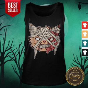 Day Of The Dead Cat Halloween Tank Top