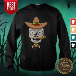 Cowboys Skull Day Of Dead Dia De Muertos Sweatshirt