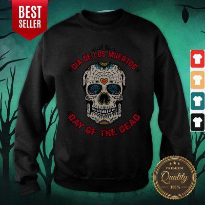 Mexico Sugar Skull Dia De Los Muertos Day Of The Dead Sweatshirt