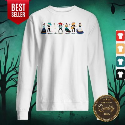 Day Of The Dead Skeleton Party Sweatshirt