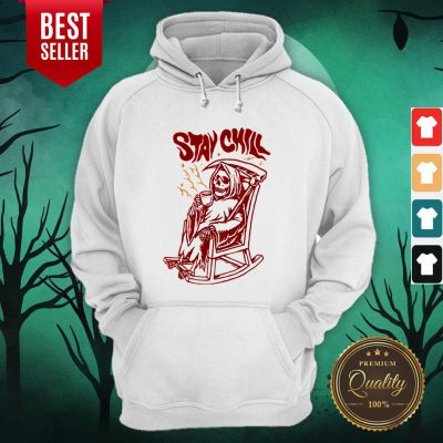 awesome stay chill death drink coffee halloween hoodie