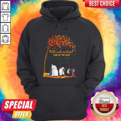 It's The Most Wonderful Time Of The Year Anime Characters Halloween Hoodie