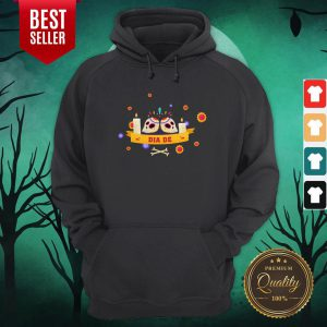 Dia De Muertos Sugar Skulls Happy Mexico Holiday Hoodie