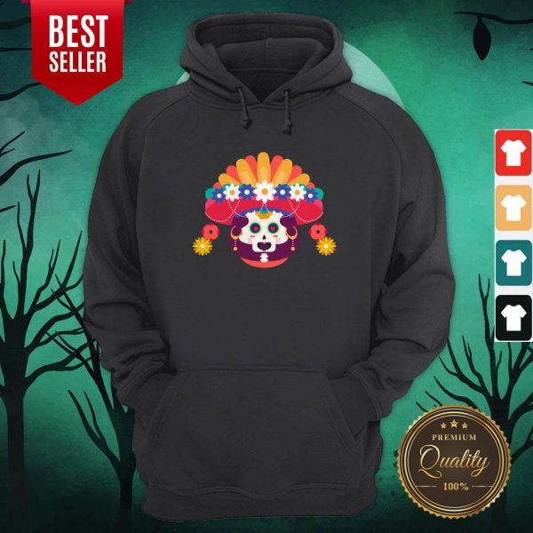 Skeleton Woman Day Of The Dead Muertos Hoodie