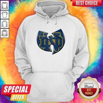 Pretty Wu-Tang Notre Dame Fighting Irish Hoodie