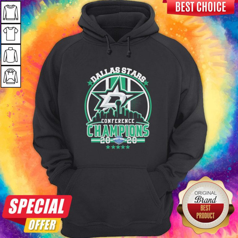 Dallas Stars Conference Champions 2020 Hoodie