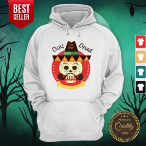 Day Of The Dead Sugar Skull In Mexican Holiday Hoodie