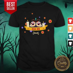 Dia De Muertos Sugar Skulls Happy Mexico Holiday Shirt
