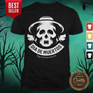 Skull Vintage Dia De Muertos Day Dead Shirt