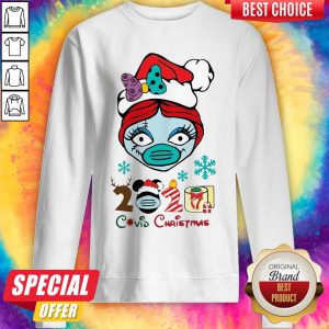 Nice Sally Wear Mask 2020 Covid Christmas Sweatshirt