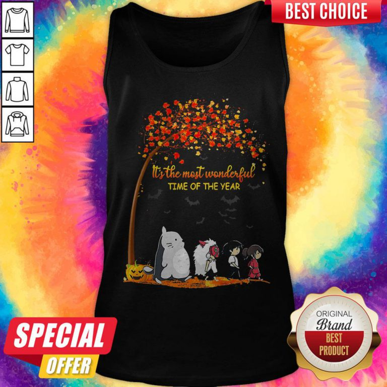 It's The Most Wonderful Time Of The Year Anime Characters Halloween Tank Top
