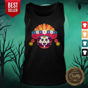 Skeleton Woman Day Of The Dead Muertos Tank Top