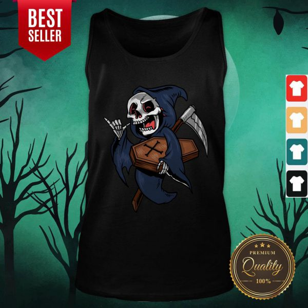 Death Funny Halloween Day 2020 Tank Top