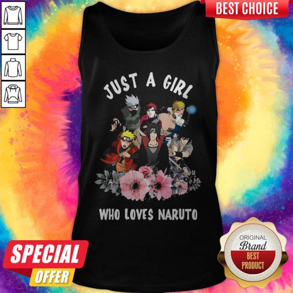Premium Just A Girl Who Loves Naruto Tank Top