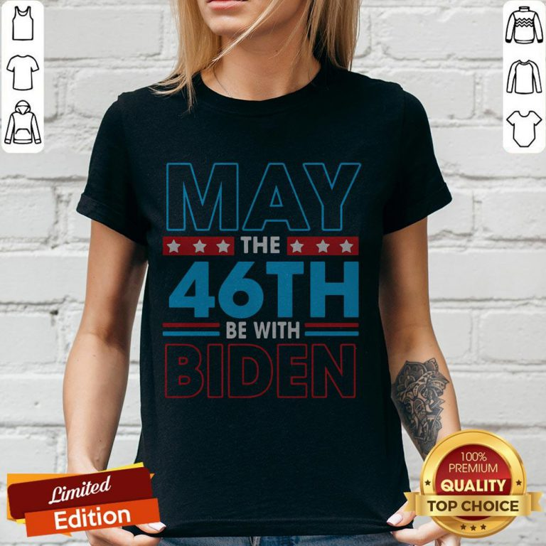 Grateful May The 46th Be With Biden V-neck