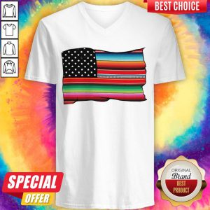 Colorful Cultura Pride Vintage V-neck