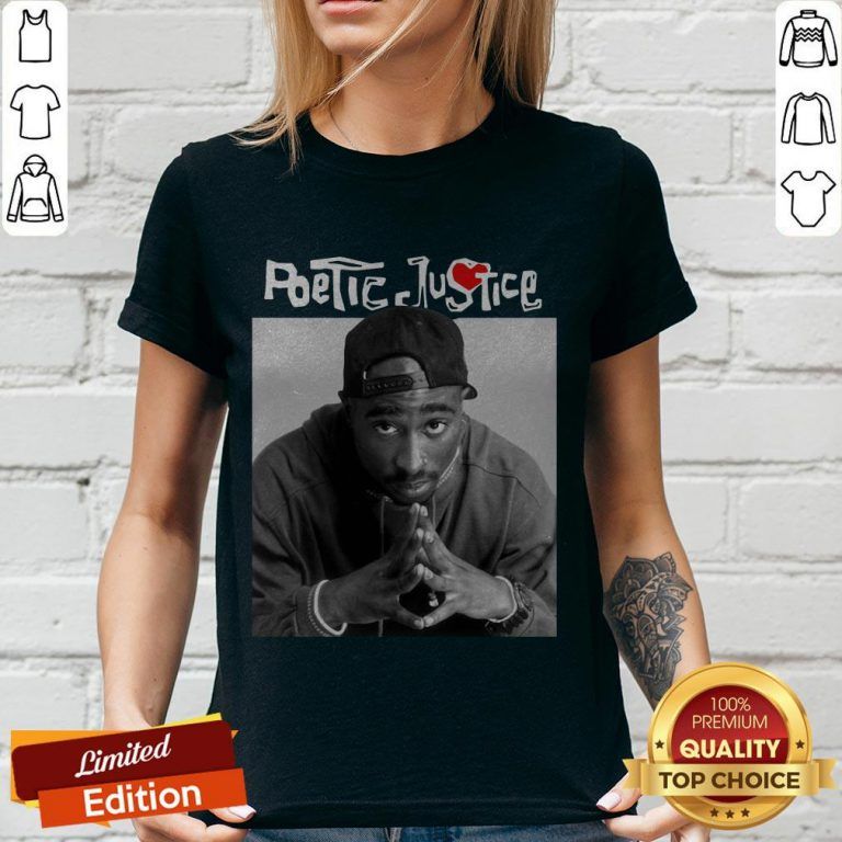 Awesome Shakur Poetic Justice V-neck