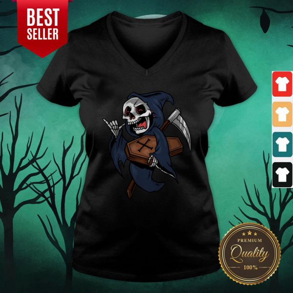 Death Funny Halloween Day 2020 V-neck
