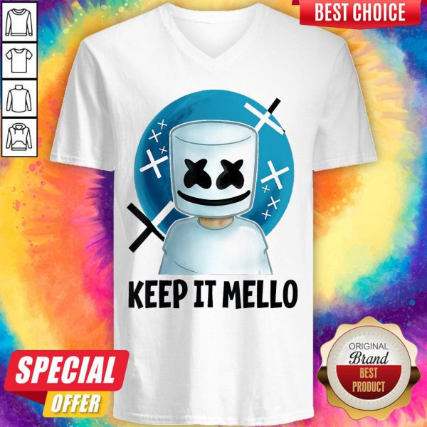 Cute Keep It Mello V-neck