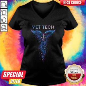 Official Vet Tech V-neck
