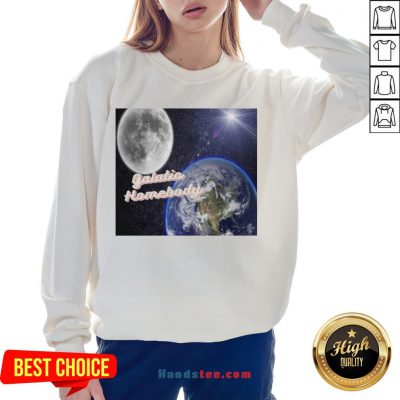 Awesome I'm A Galatic Homebody Sweatshirt- Design By Handstee.com