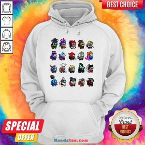 Funny Among Us X League Of Legends Games Hoodie-Design By Handstee.com