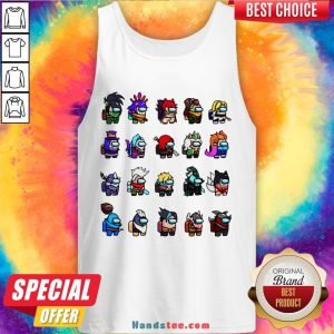 Funny Among Us X League Of Legends Games Tank Top-Design By Handstee.com