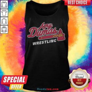 Funny Amy Dumas Wrestling Tank Top- Design By Handstee.com