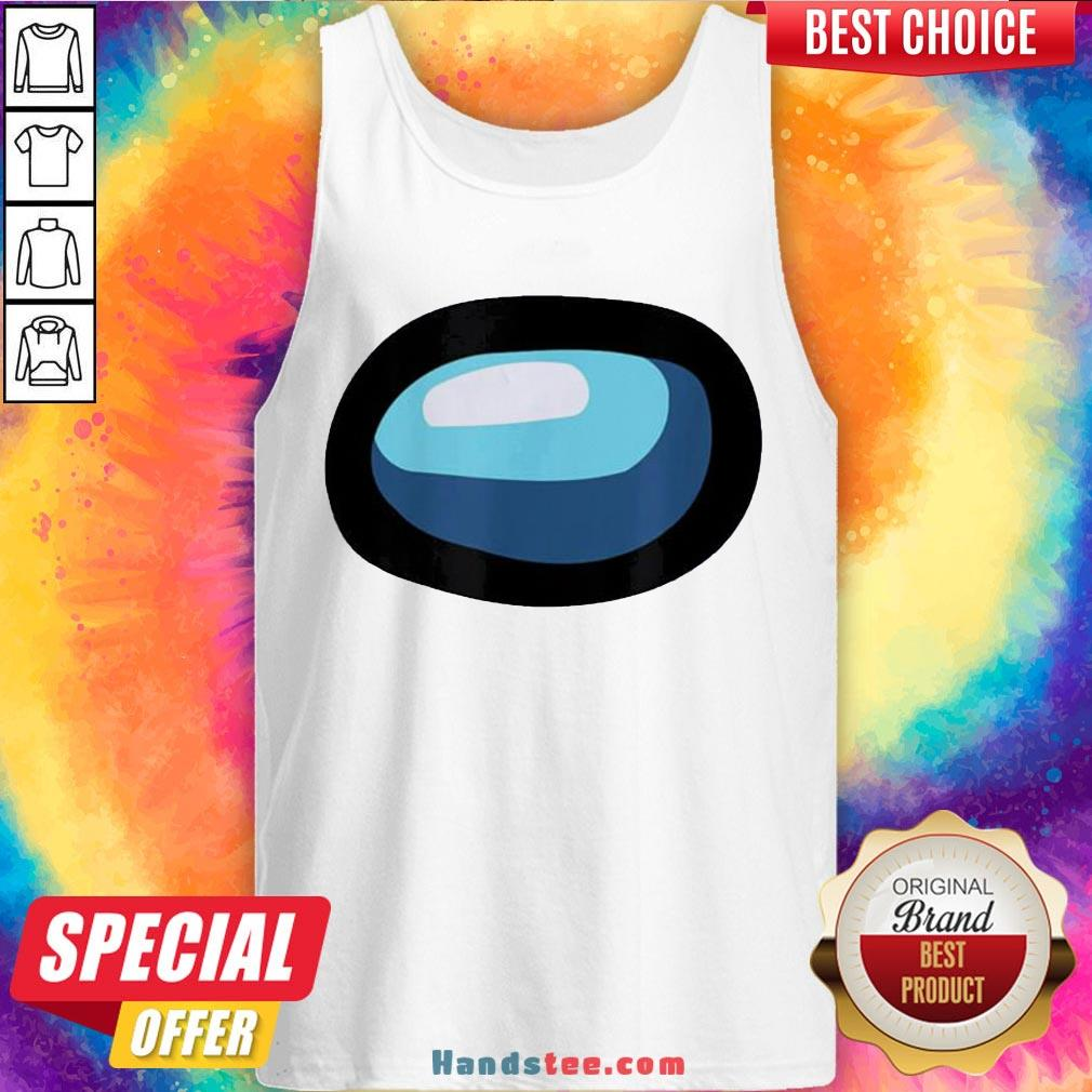 Funny Crewmate Or Sus Impostor Gaming Mask For Costume Tank Top- Design By Handstee.com