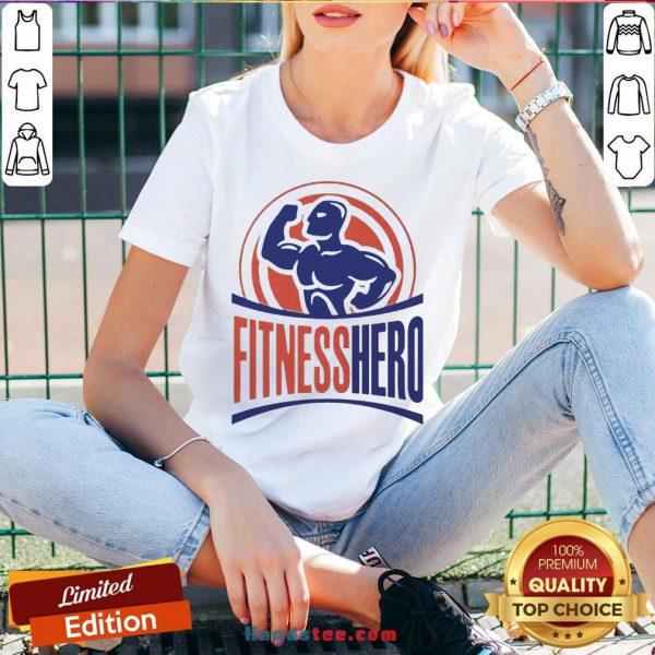 Good Fitness Hero Best V-neck- Design By Handstee.com